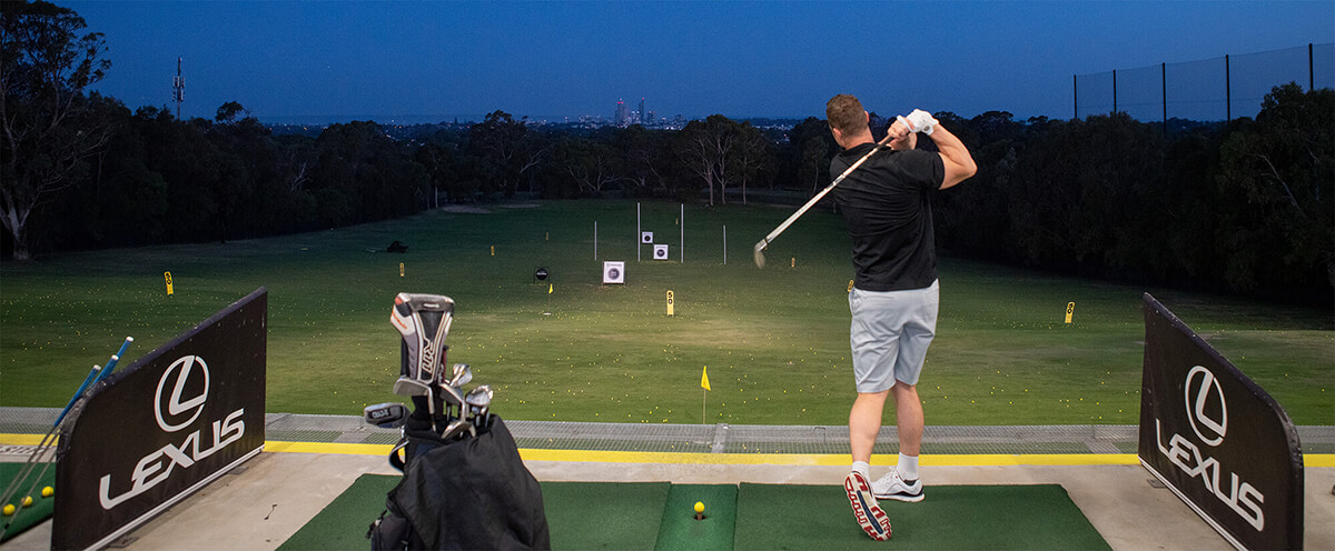Perth's best driving range
