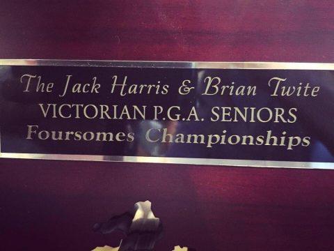 VIC Legends PGA Foursomes. Rich River GolfCourse