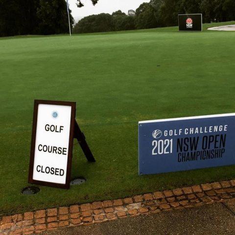 NSW Open week. Concord Golf Club